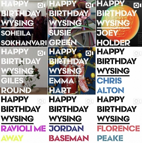Weve Been Getting Brilliant Digital Birthday Cards From Some Of The People Who Have Worked At Wysing Over Years If Youd Like To Send Us A Card